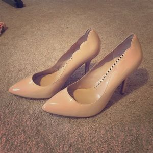 Betsey Johnson Nude Heels 👠